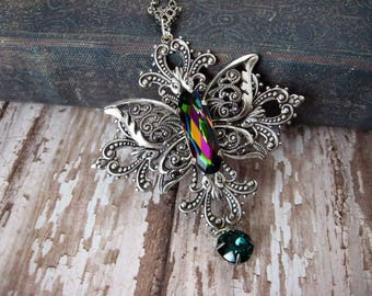 Butterfly Necklace - N222