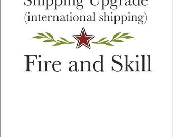 Shipping Upgrade - Expedited International Shipping