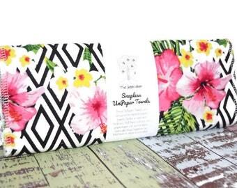 Custom Unpaper Towels | Snapless Reusable Paper Towels | Eco Friendly Cloth Paper Towels | Half Set of 6 | You Choose Fabric