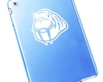 """Walrus Decal / Walrus Window Sticker / Walrus Laptop Decal / Walrus Car Sticker / Walrus Head Decal / Walrus Sticker/ 4.50""""h x 4.50""""w / #439"""