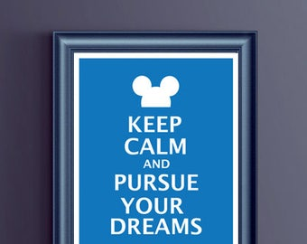 Disney - Keep Calm and Purse Your Dreams - Mickey Mouse