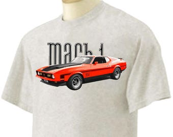 T-Shirt 1972 MACH 1 Ford Mustang