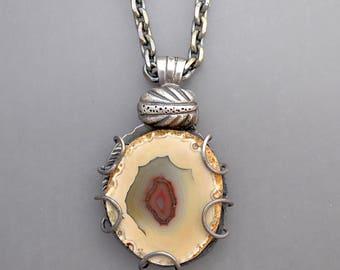 Whiteskin Agate Necklace