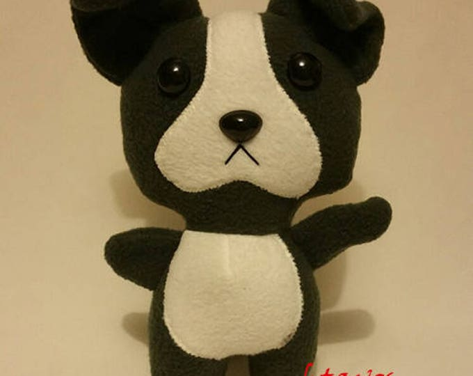 PitBull/Boston Teirrier Plush Toy