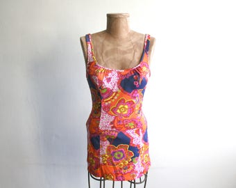 Catalina Skirted 70s Swimsuit