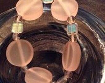 Chunky Powder Pink Bracelet