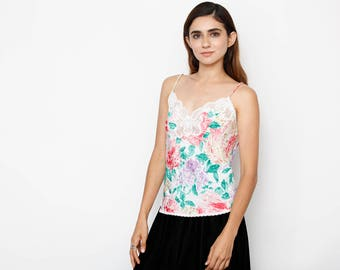 Colorful Floral Cami