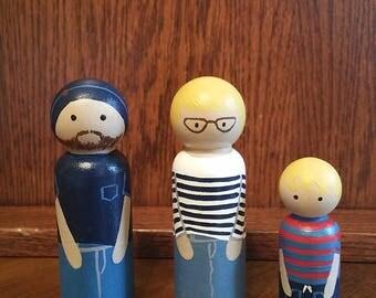 Personalized Peg Dolls