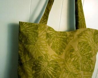 monsteria leaves bag