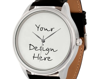 Personalized Watch BIG | Custom Watch | Your Own Watch Design | Personalized Christmas Gift | Gifts for Men | Gift for Women | FREE SHIPPING