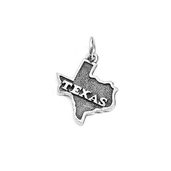 Texas State Charm - Add a Charm to a Custom Charm Bracelets, Necklaces or Key Chains - Read Description for More Info - Nickel Free Charms