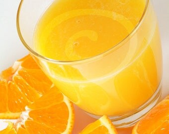 Orange Juice Photo, Orange Wedges, Fruit Photo, Food Clipart, Juice Clipart, Digital Download, PNG Transparent Background, Drink Clip Art