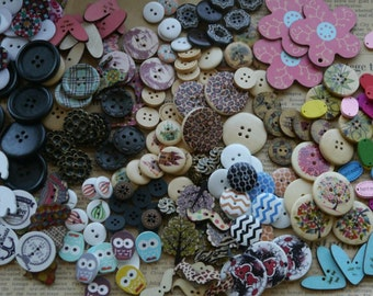 LIQUIDATION Large Assorted Grab Bag Buttons AMAZING DEAL