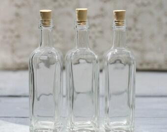 50 Glass Bottles Limoncello Bottles Limoncello Favors Olive Oil Favors Baptism Favor Holy Water Bottle Corked Bottle 2 Ounce Bottles
