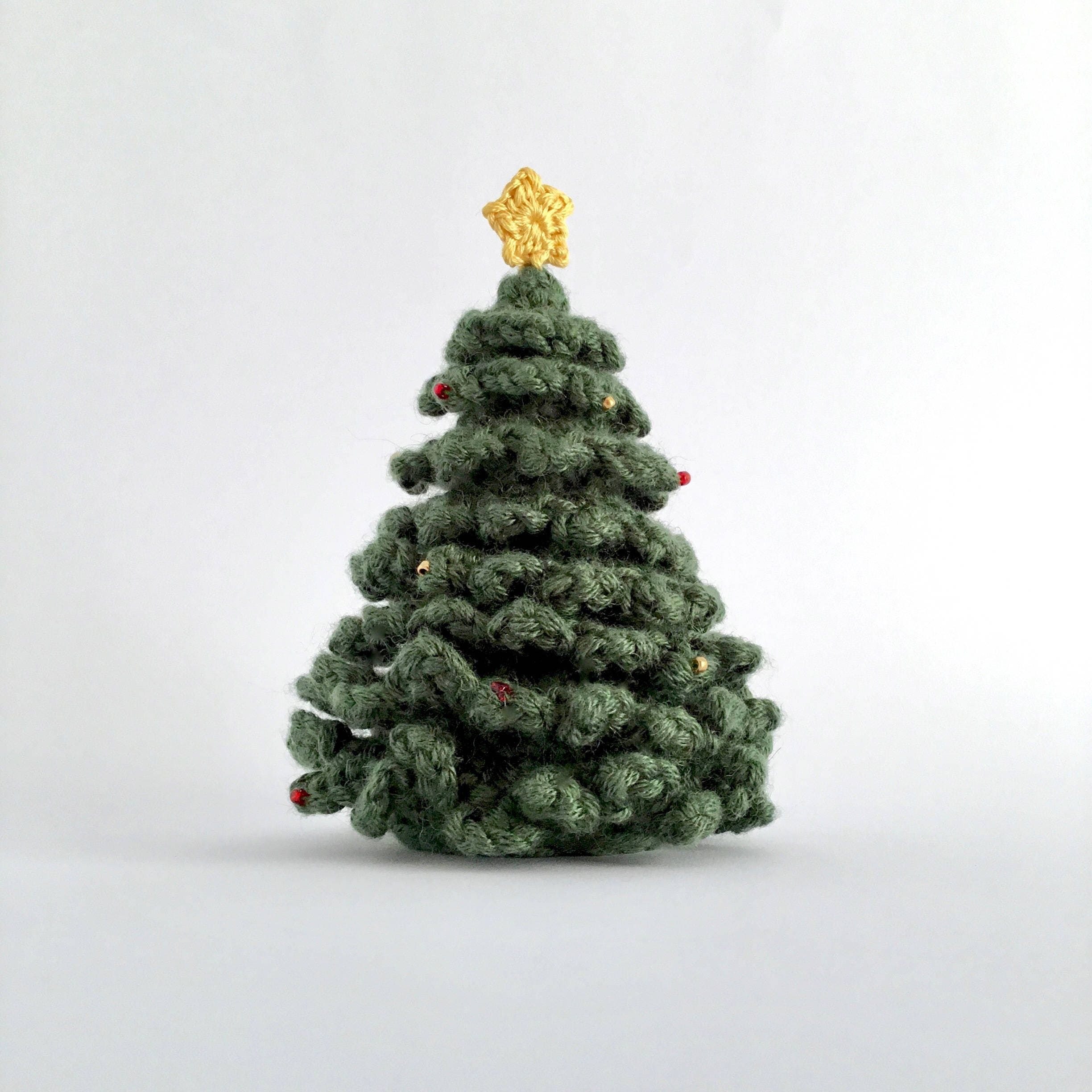 Small Christmas Trees Uk: Miniature Christmas Tree Desk Table Decoration Ornament