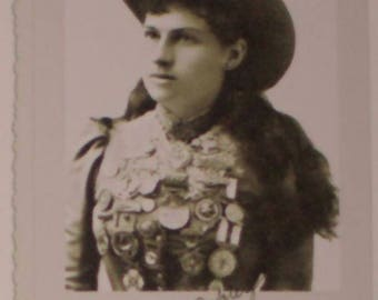 Annie Oakley Autograph Notecard
