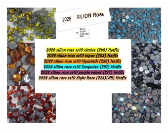 Art 2028, Swarovski Crystal, Hot Fix, 10SS, Round, Rhinestone, SS10, 2MM, Nail Design, Crystal Clay, Assemblage, Embellishment, Gross