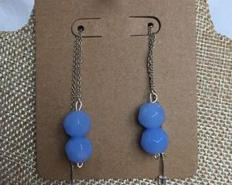 Cornflower blue threader