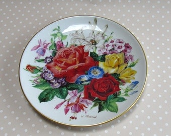 Sommerpracht - Summer Glory Collectable Plate 1987 Hutschenreuther Flowers Floral 1219c - David