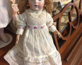 "SALE!! Bru Jne 11 Antique Reproduction French Bebe Doll 15"""