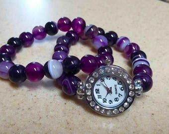 Watch & Matching Bracelet