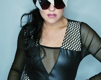 Zocculus Shades Mens Womens Sunglasses angular avant garde futuristic festival glasses accessory burning man festival
