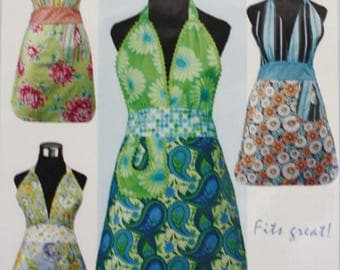 Friday Night Apron Sewing Pattern, Vanilla House Designs P141