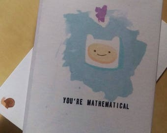 Finn Adventure Time Valentine Card