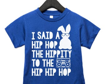 boy easter, kids hip hop shirt, trendy easter, easter for boy, hip hop bunny, hipster