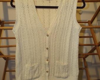 Cool Vintage Hipster Sweater Vest