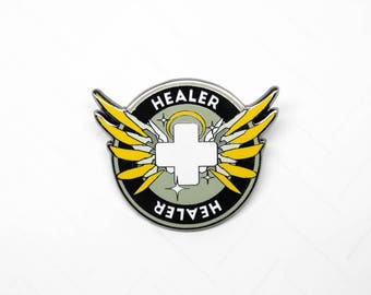 Merciful Healer Achievement Pin - Enamel Pin Lapel Pin