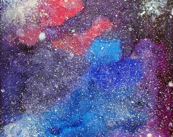 Somewhere Out There - Space Painting