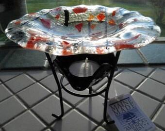 Halloween Fused Glass Wax Tart Warmer