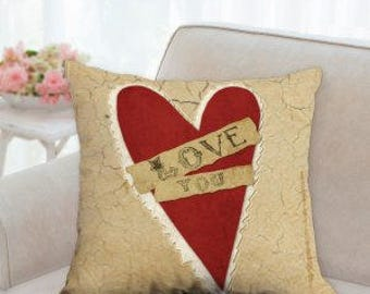 Love You Pillow