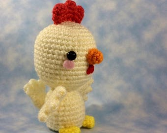 CROCHET PATTERN for Chicken Bird! Delightful Chicken Amigurumi