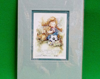 1997 Bergsma Dream Keepers Limited Edition Numbered Print - 5 X 7