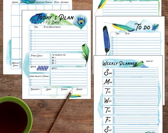2018 Coloring Calendar Coloring pages Instant digital