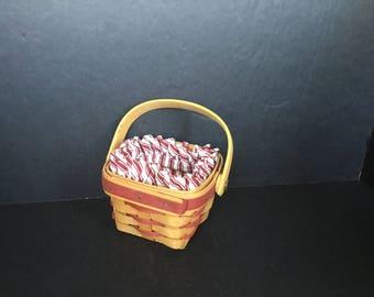 Small Longaberger Basket - 1985