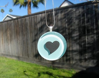 Turquoise Necklace. Gift for Her. Heart Shape Necklace. Gifts for Girls. Gifts for Women. Christmas Gifts for Mom. Birthday Gifts for Her