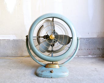 Mid Century Vornado Model B38C1-1 Fan - 12 Inch Fan - Working 3-Speed Vornado Fan - Mid Century Fan - Industrial Fan - Vornado Table Fan