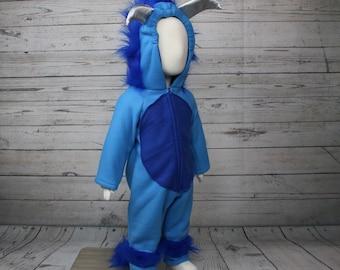 Fleece Monster Toddler Costume