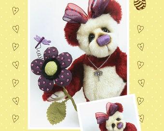 PDF - Tiggy Artist Bear Pattern