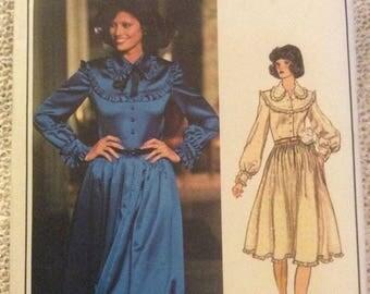 Vogue Paris Original Pattern 1191 Nina Ricci Size 12 Misses Dress