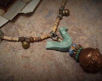 Dainty Little Bird Necklace