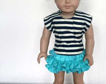 Ra Ra Outfit for 18 inch Dolls like American Girl