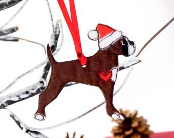 Dog Christmas Decoration Dog gift Dog ornament Christmas