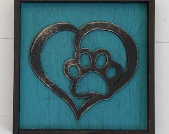 Teal Puppy Love