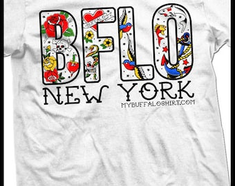 BFLO tattoo t-shirt