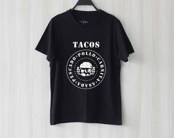 Tacos Shirt T Shirt Tee Top TShirt