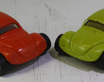 Vintage pair of mini Tonka VW hot rods